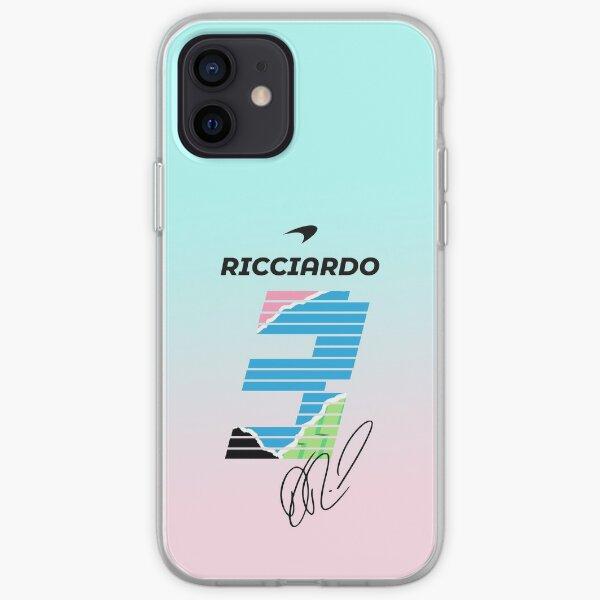 Ricciardo Mclaren Coque souple iPhone