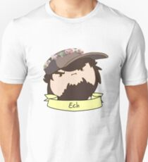 JonTron: The Ech Flower Crown Unisex T-Shirt