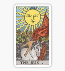 Tarot Card - The Sun Sticker