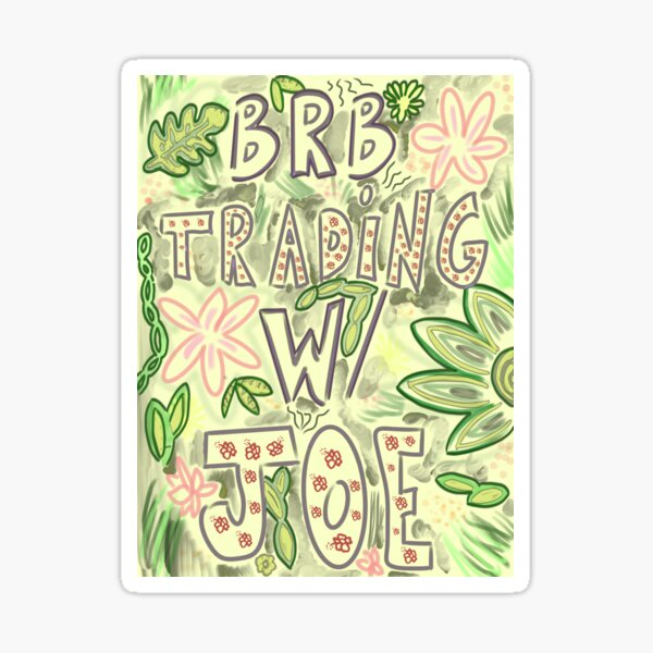 Trader Joes Sign Sticker