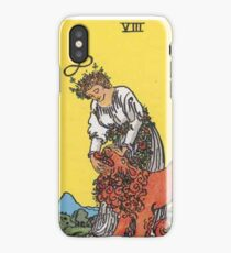 Tarot Card - Strength iPhone Case/Skin