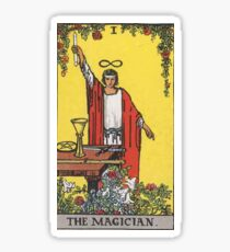 Tarot Card - The Magician Sticker