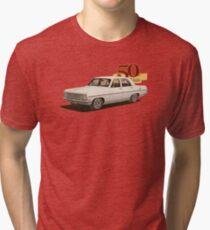 HR Holden Sedan - 50th Anniversary - White Tri-blend T-Shirt