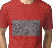 irregular shape silver pattern Tri-blend T-Shirt