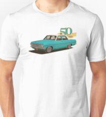 HR Holden Sedan - 50th Anniversary - Aqua T-Shirt