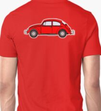VW, Volkswagen, Beetle, Bug, Motor, Car, RED T-Shirt