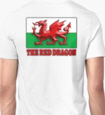 WELSH FLAG, WALES, WELSH, RED DRAGON, WALES,  T-Shirt