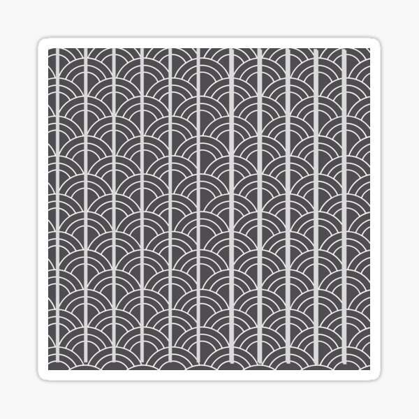 Grey Sticker