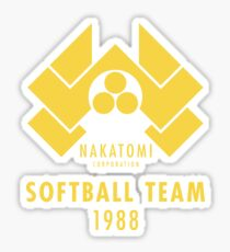 Nakatomi Corporation Softball Team Sticker