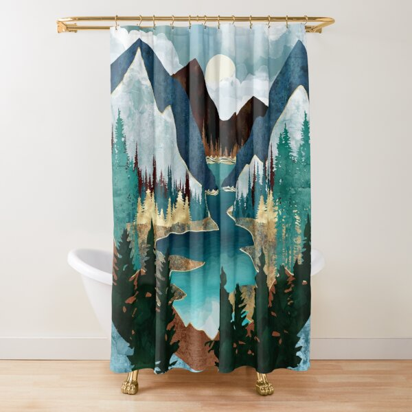 River Vista Shower Curtain