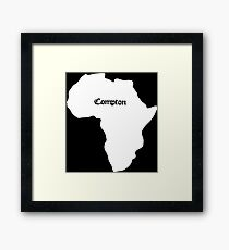 Compton Framed Print