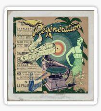 Regeneration Retro Affiche Sticker
