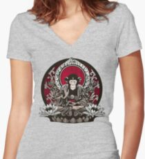 Zen Sapience Women's Fitted V-Neck T-Shirt