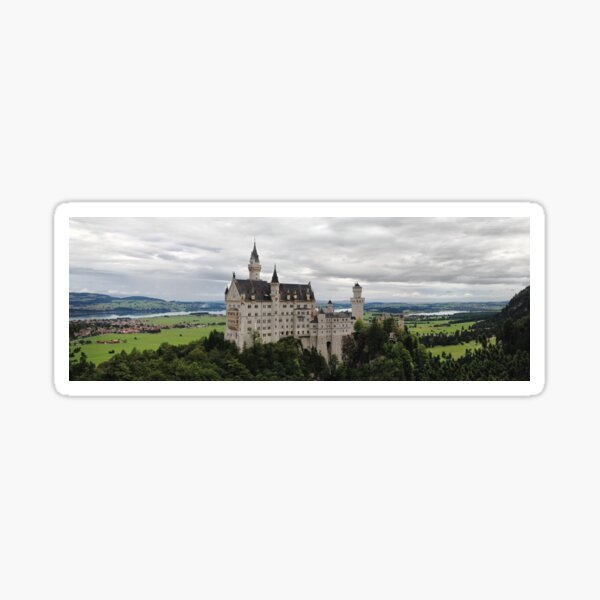 castle neuschwanstein Sticker