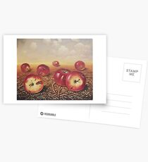 Red apples Postcards
