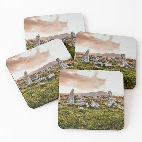 Derreenataggart Stone Circle IRELAND  Coasters (Set of 4)