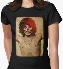 THE MISFITS JIM MORRISON Mash Up (Vintage/black) Womens Fitted T-Shirt