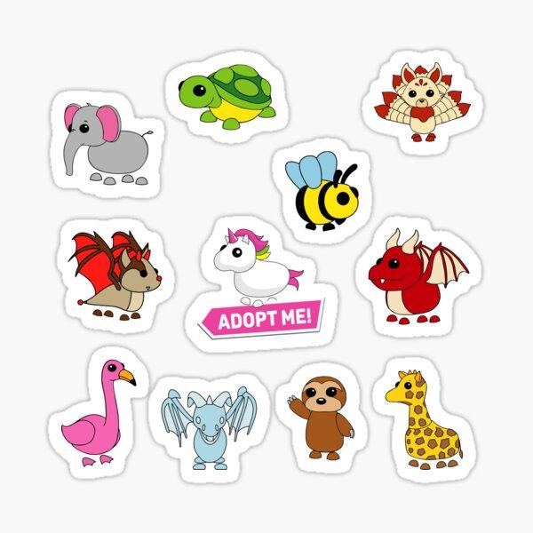 Adopt me pets set Sticker