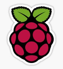 Rasberry pi symbol Sticker