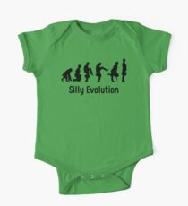 Python Silly Walk Evolution T Shirt One Piece - Short Sleeve
