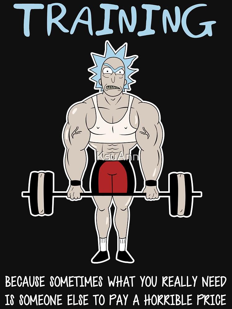 Rick Sanchez Training | Unisex T-Shirt
