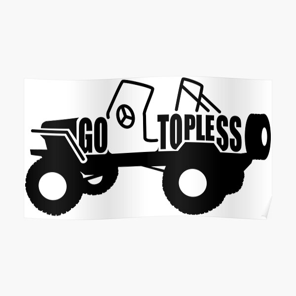 Go Topless Poster