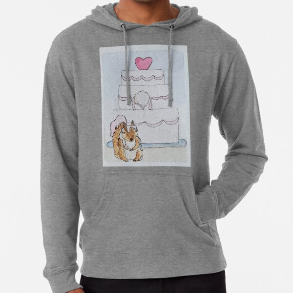 Squirrel wedding crasher Lightweight Hoodie