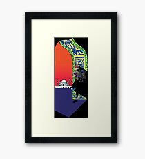 Major Lazer Framed Print