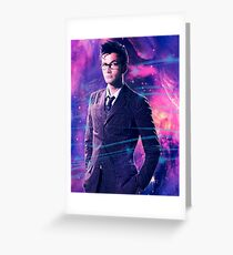 The 10th Doctor Greeting Card