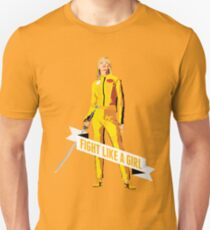 Fight Like a Girl: Beatrix Kiddo T-Shirt