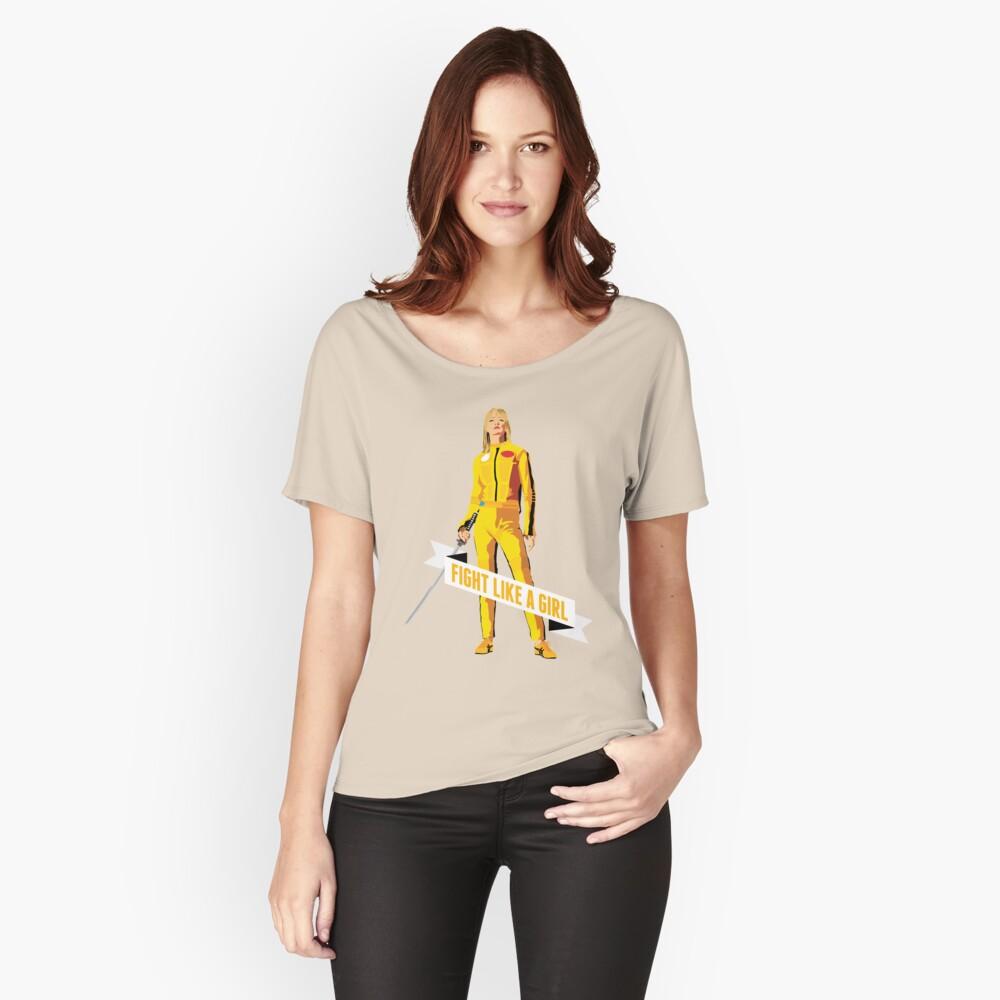 Kämpfe wie ein Mädchen: Beatrix Kiddo Loose Fit T-Shirt
