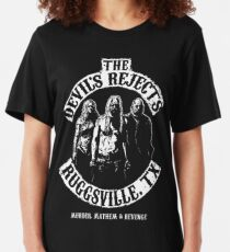 Devils Rejects, Ruggsvile, TX Slim Fit T-Shirt