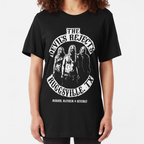Devils Rejects, Ruggsvile, TX Slim Fit T-Shirt