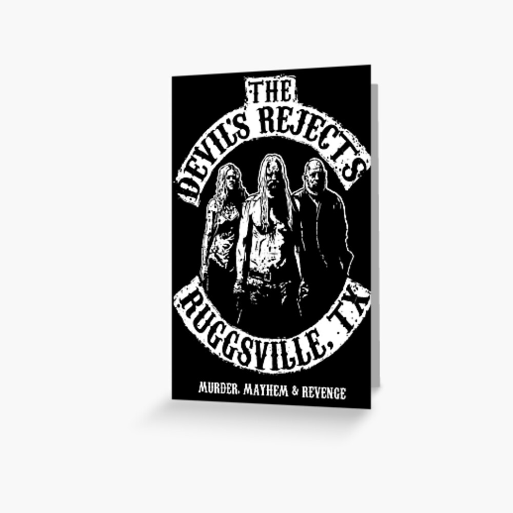 Devils Rejects, Ruggsvile, TX Greeting Card