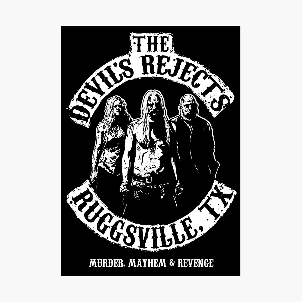 Devils Rejects, Ruggsvile, TX Photographic Print