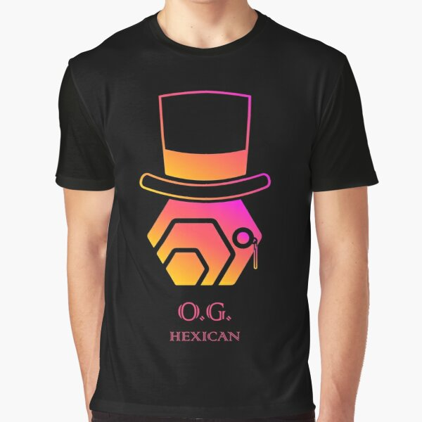 O.G. Hexican HEX Crypto Logo Graphic T-Shirt