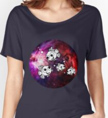 Fish Fly On Nebula Women's Relaxed Fit T-Shirt