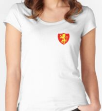 Lioness Rampant Women's Fitted Scoop T-Shirt