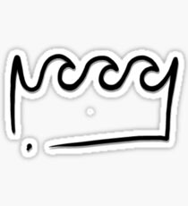 King Wavy  Sticker