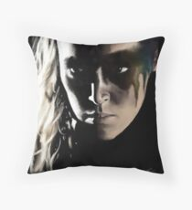 Get knocked down, get back up Throw Pillow