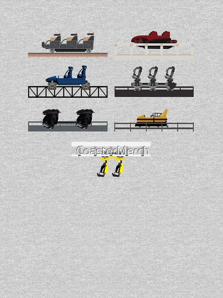 Heide Park Coaster Cars by CoasterMerch