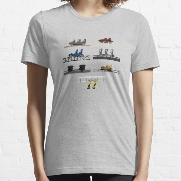 Heide Park Coaster Cars Essential T-Shirt