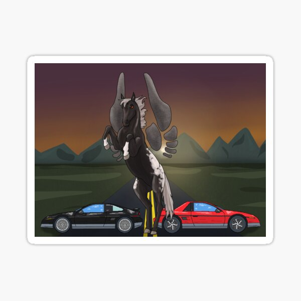 Fieros and Pegasus Scene Sticker