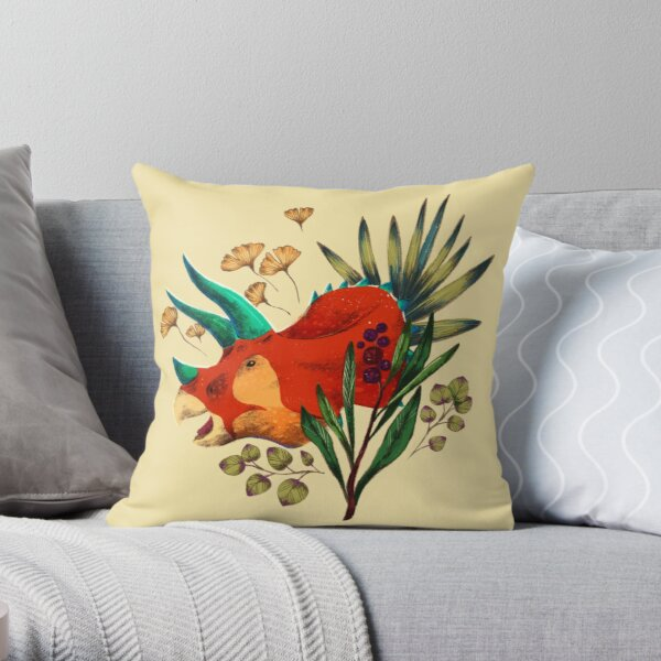 Triceratops is the best dino Coussin