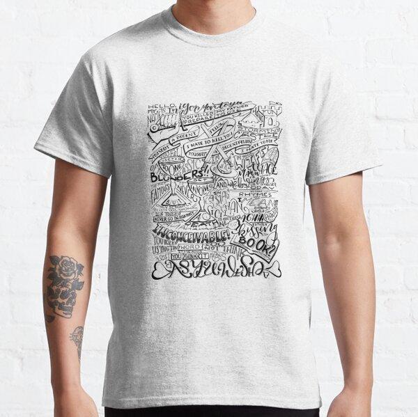 Princess Bride Quotes Classic T-Shirt