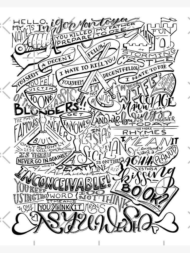 Princess Bride Quotes by catlashley