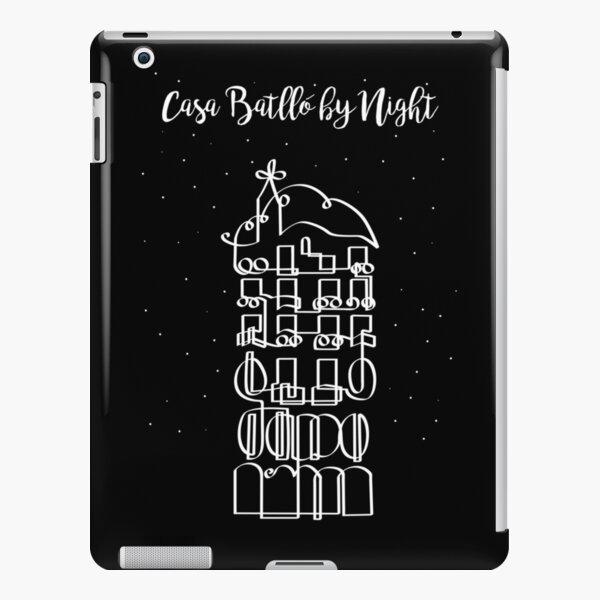 Casa Batlló de noche Funda rígida para iPad