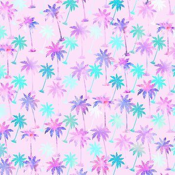 Palme Muster von MartaOlgaKlara