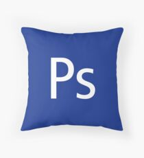 Ps - Photoshop Throw Pillow