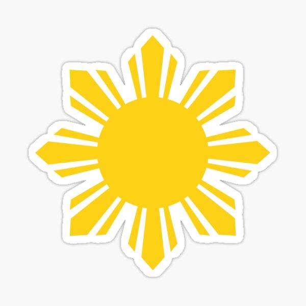 Philippines Sun Sticker